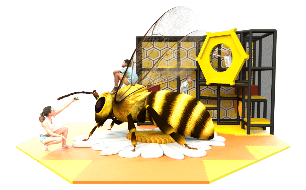 Bee Nature Themed Play Photo Corner