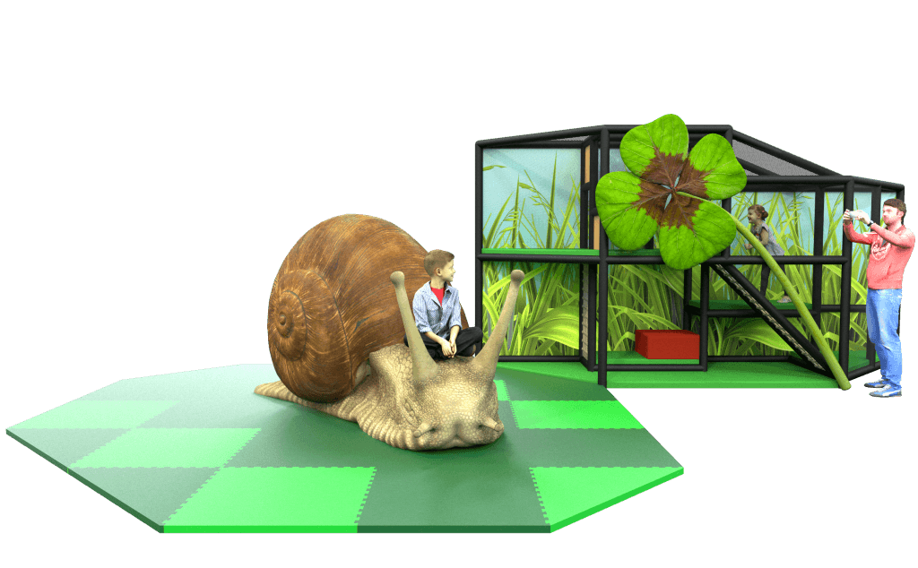 Snail Nature Themed Play Photo Corner